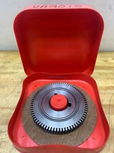 Reground Red Ring Va 9015 Gear Shaving Cutter Hob National Broach Machine