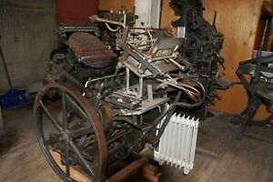 Chandler And Price 12 By 18 Letterpress with A Kluge Adapter Open To All Offers