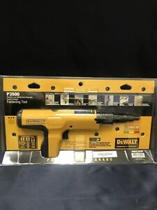 Dewalt Ddf212035p Semi automatic Powder Actuated Trigger Tool P3500 New In Pack
