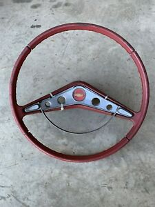 1959 1960 Chevrolet Impala Steering Wheel Convertible Lowrider Oem Hot Rat Rod