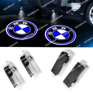 4x Led Lights For Bmw Door Welcome Light Logo Courtesy Projector Ghost Shadow