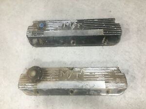 Vintage Mickey Thompson Sbf M t Valve Covers Small Block Ford 289 302 351w Pair