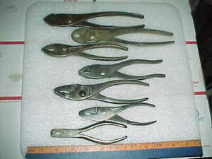 Vtg Mixed Pliers Vacuum Grip No 5 C s Osborne 5 Gas Burner True Value Tools