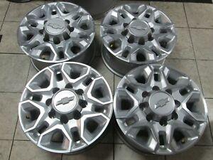18 Gmc Chevy 2500 3500 Hd Oem Factory Wheels Rims Silver 2020