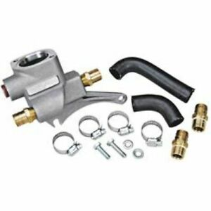 Trick Flow 51600600 Thermostat Housing Crossover For Ford 351w Cleveland Heads