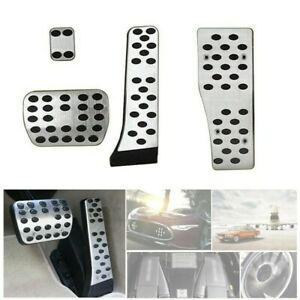 Car Foot Pedal Auto Interior Inner Silver Parts Useful Durable Practical