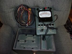 Vin antique Electrical Test Equipment Lincoln Industrial Circuit Analyzer Set