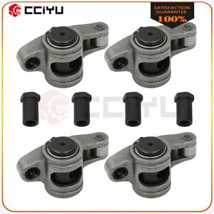 Stainless Steel Roller Rocker Arms For Sbc 305 350 400 Small Block Chevy 1 5 3 8
