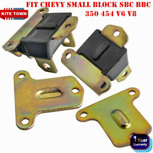 Polyurethane Engine Motor Mounts For Sbc Bbc Small Block Chevy Urethane 350 454