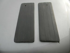Original Mga Coupe Fhc Set Interior Door Panel Card Insert Matched Pair Black