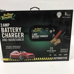 Battery Tender 3 Amp Automotive Battery Charger And Maintainer In Box New