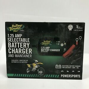 Battery Tender 1 25 Amp Selectable Battery Charger And Maintainer In Box New