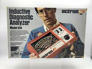 Actron Inductive Diagnostic Analyzer Model 628 Complete W Box Great Condition