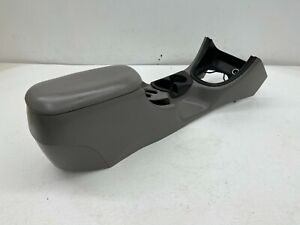 1999 2004 Oem Ford Mustang Center Console With Armrest And Storage Grey s9518