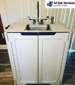 Portable Sink Mobile Handwash Self Contained Hot Water Concession Pacific