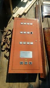 Used Pyr a larm Fire Smoke Detection Control Unit Alarm System