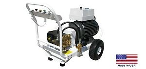 Pressure Washer Commercial Electric 5 5 Gpm 5000 Psi 20 Hp 230v 3 Ph Gp
