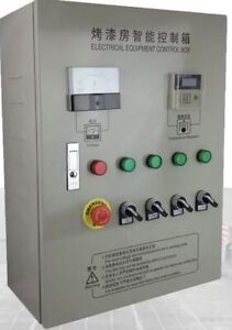 24kw Electric Control Cabinet For Spray Booth Backing Infrared Ir Paint Heating