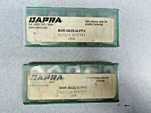 Dapra Bnr 0625 n fpx Carbide Inserts Indexable 1 Pack Nos 10 Pcs 2 Available