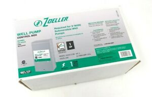 New Zoeller Well Pump Control Box 1hp steel 1010 2338 Submersible 3 wire