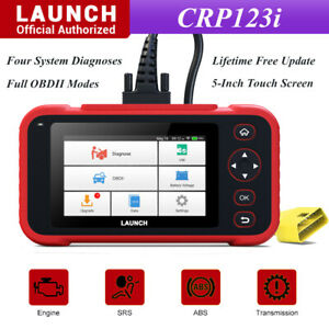 Launch X431 Crp123i Obd2 Scanner Diagnostic Abs Srs Engine At Car Code Reader