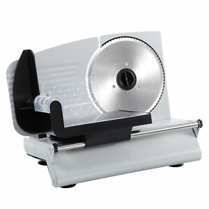 7 5 Blade Electric Meat Slicer Cheese Deli Meat Food Cutter Kitchen Home
