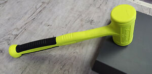 New Snap On Hbfe32 32 Oz Dead Blow Soft Grip Handle Hammer Yellow 100 Years Ann