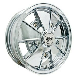 Brm Wheel All Chrome 5 Wide 5 On 205mm Vw Dunebuggy Vw