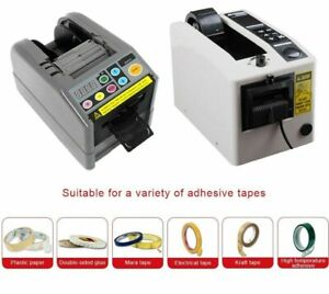 Electrical Adhesive Tape Dispenser Automatic Cutter Slitting Machine Office Tool