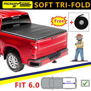 For 2011 18 Ram 1500 2500 Truck Cover 6ft Truck Bed Soft Tri fold Tonneau Cover