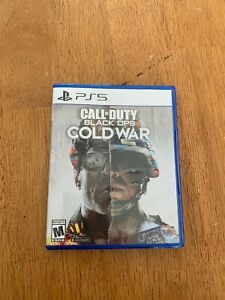 Call of Duty: Black Ops Cold War Standard Edition PlayStation 5 2020  $45.00