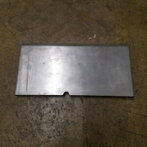 Hobart Am14 Commercial Dishwasher Stainless Steel Overflow Cover Oem 289111