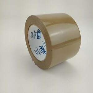 Uline s 444 Industrial Pack Ship Tape 3 X 110 Yds Tan 4 Pack free Shipping