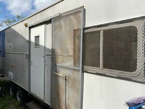 Loaded 2006 8 X 23 Mobile Kitchen Food Concession Trailer With Bathroom For Sa