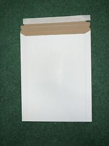 Pack Of 10 9x11 5 Rigid Photo Mailers Envelopes Flat Document Self Seal Mailer