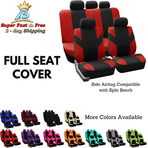 Auto Seat Covers For Car Truck Suv Van Full Car Cover Protection Accessories New