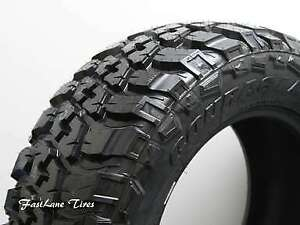 4 New Lt245 75r16 Federal Couragia M t Load Range E Tires 245 75 16 2457516