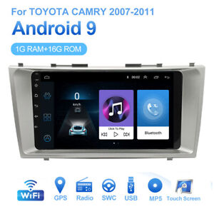 For Toyota Camry 2007 2011 2 Din Android 9 1 Car Stereo Radio Video Player Gps