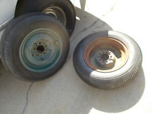 2 Vintage 16 X 4 Wheels Rat Street Hot Rod Oldsmobile Model A 1932 Ford 1934 T