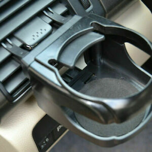 Black Car Air Vent Mount Water Cup Holder Bottle Drink Stand Interior Accessory