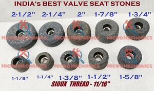 Sioux Valve Seat Grinding Stone Set 10 Pcs 25 Mm To 50 Mm New Set 11 16 Trd