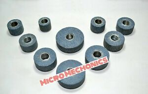 Sioux Valve Seat Grinding Stone Set 10 Pcs 25 Mm To 50 Mm New Set 11 16 Thread