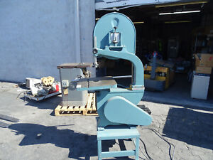 Enco 18 Vertical Wood Cutting Band Saw 00361006 2hp 220v 1ph