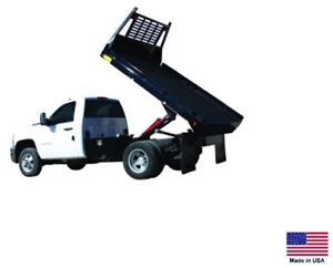 Flat Bed Truck Dump Kit For 8 To 12 Ft Beds 5 Ton Capacity Power Power