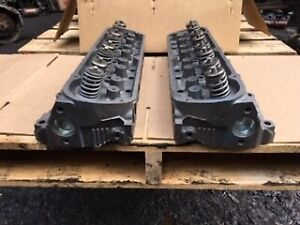 Ford Gt40p 5 8 351 Windsor Reman Heads With 4 Bars On End No Cores Owed