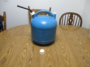 Vintage Eagle 5 Gal Gallon Vented Kerosine Kerosene Gas Can Fuel Jug Kp 5