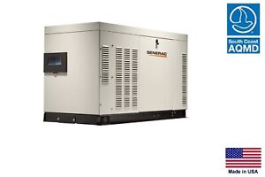 Standby Generator Commercial residential 22 Kw 120 240v 3 Phase Ng Lp