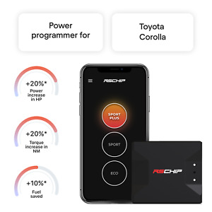 Rschip Toyota Corolla Smart Tuning Chip Power Programmer Performance Tuner Obd2
