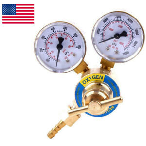 Welding Gas Welder Oxygen Regulator Oxy For Torch Cutting Kits Cga 540 Female