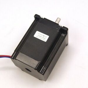 Nema 23 Cnc Stepper Motor 1 9nm 269oz in 6 3mm Shaft For Cnc Mill Lathe Router